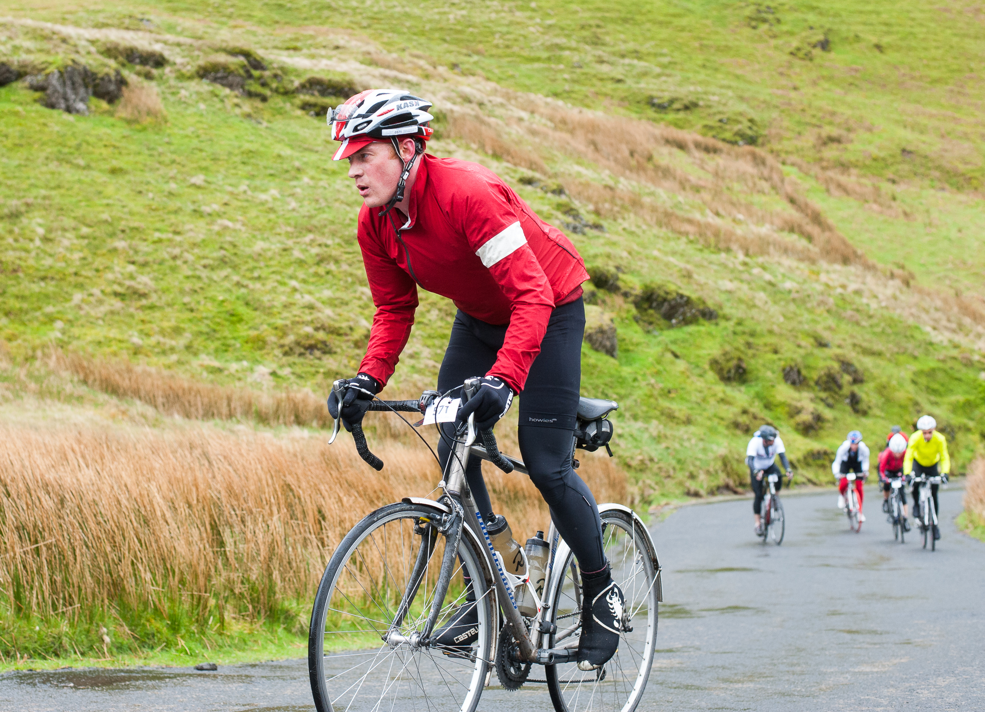 Newlands Pass Summit Fred Whitton 2014