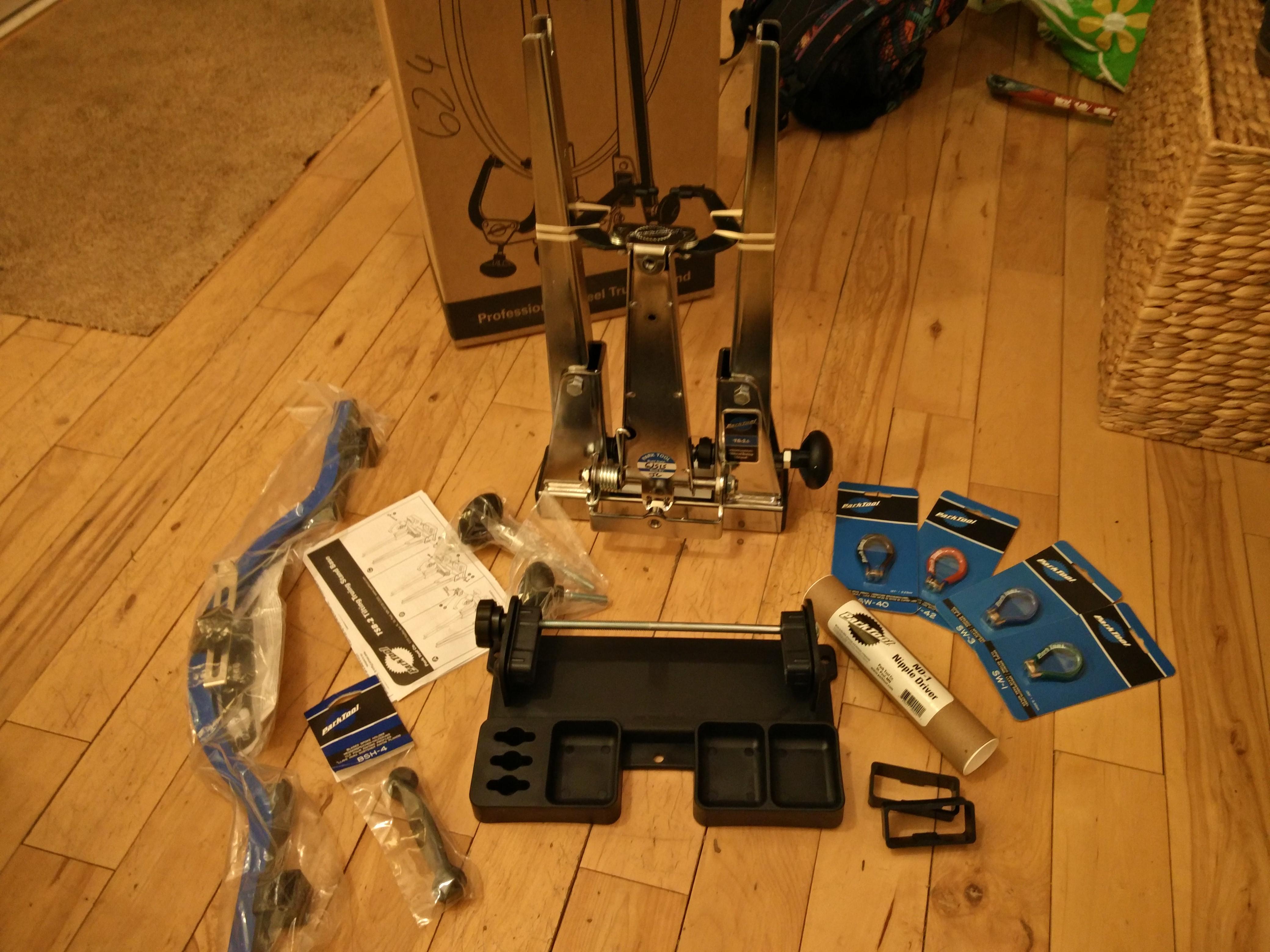 Unpacked tools